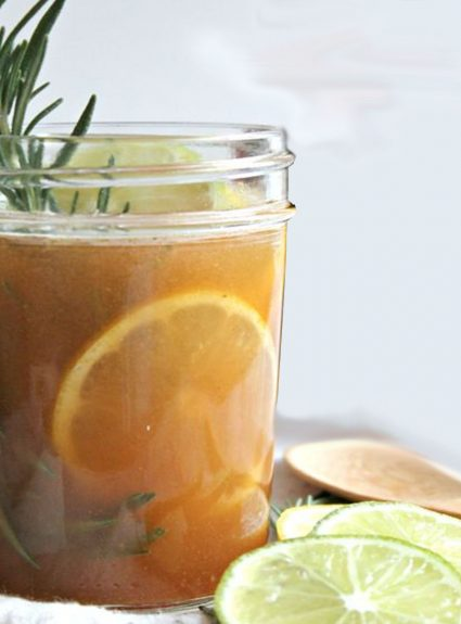 Recipe: Sweet Lemon, Honey and Thyme Cough Syrup